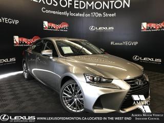 New 2019 Lexus IS 300 Premium package for sale in Edmonton, AB