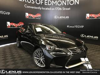 New 2019 Lexus IS 300 Luxury Package for sale in Edmonton, AB