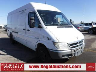 Used 2006 Dodge SPRINTER 3500  2D CARGO VAN for sale in Calgary, AB