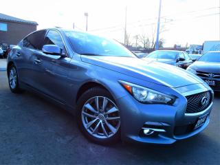 Used 2014 Infiniti Q50 AWD | NAVI.360CAM.BSM.RADAR | LEATHER.ROOF for sale in Kitchener, ON