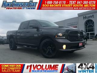 Used 2017 RAM 1500 SPORT | HOOD | HTD STS | CAM | 8.4 | 4X4 & MORE!!! for sale in Milton, ON
