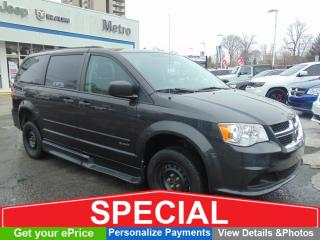 Used 2012 Dodge Grand Caravan Savaria - Handicap Accessible for sale in Ottawa, ON