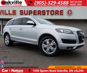 Used 2014 Audi Q7 3.0T TECHNIK | NAVI | PANO | LOW KM for sale in Oakville, ON