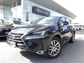 Used 2016 Lexus NX 200t 6A Luxury PKG, 1 Owner, Local for sale in North Vancouver, BC