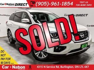 Used 2017 Nissan Pathfinder SV| BACK UP CAMERA & SENSORS| 4X4| for sale in Burlington, ON