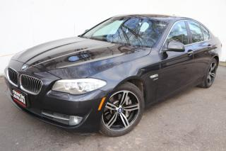 Used 2012 BMW 5 Series 535i xDrive Navigation 360 cam Back camera for sale in Mississauga, ON