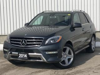 Used 2014 Mercedes-Benz ML-Class 4Matic BlueTEC|AMG PKG| 360 CAM|BLIND SPOT|ACCIDENT FREE for sale in Mississauga, ON