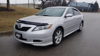 Used 2007 Toyota Camry 4dr Sdn I4  | 1 Owner | Accident Free | Low KM! for sale in Vaughan, ON