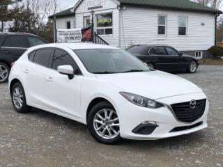 Used 2015 Mazda MAZDA3 1-Owner HB Sport GS Navi Backup Cam Heated Seats Certified for sale in Sutton, ON