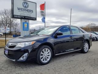 Used 2013 Toyota Camry HYBRID XLE for sale in Cambridge, ON