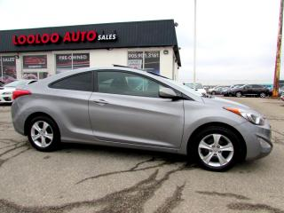 Used 2013 Hyundai Elantra GS COUPE AUTOMATIC BLUETOOTH CERTIFIED 2YR WARRANTY for sale in Milton, ON