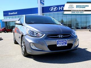 Used 2017 Hyundai Accent SE | ONE-OWNER | SUNROOF | ALLOYS | LOW KMS!  - $94.44 B/W for sale in Brantford, ON