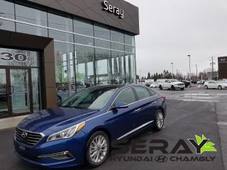 Used 2015 Hyundai Sonata Ltd, En Préparation for sale in Chambly, QC