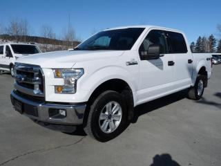 Used 2016 Ford F-150 XLT V8 5.0L, CREW, 4X4, JAMAIS ACCIDENTÉ for sale in Vallée-Jonction, QC
