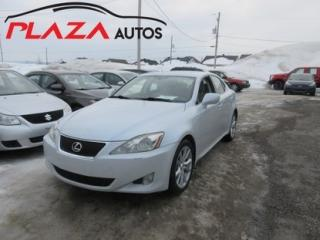 Used 2007 Lexus IS 250 AWD for sale in Beauport, QC