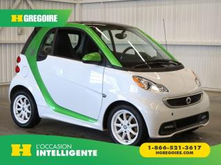 Used 2015 Smart fortwo Electric Drive for sale in St-Léonard, QC