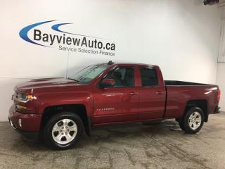 Used 2018 Chevrolet Silverado 1500 1LT - Z71! TRUE NORTH EDITION! BLUETOOTH! REV CAM! for sale in Belleville, ON