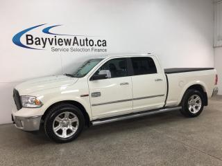 Used 2017 RAM 1500 Longhorn - ECODIESEL! 4X4! HTD/COOLED LTHR! NAV! ALPINE SOUND! for sale in Belleville, ON