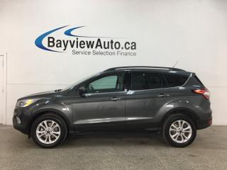 Used 2018 Ford Escape SEL - 4WD! LTHR! NAV! PANOROOF! for sale in Belleville, ON