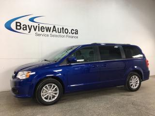 Used 2018 Dodge Grand Caravan CVP/SXT - 3 ZONE CLIMATE! STOW 'N GO! DVD! NAV! PWR DOORS! + MORE! for sale in Belleville, ON
