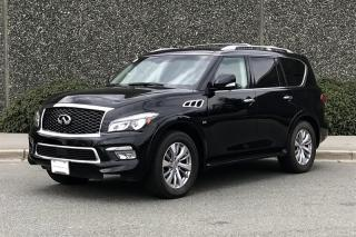 Used 2017 Infiniti QX80 7-Passenger for sale in Vancouver, BC