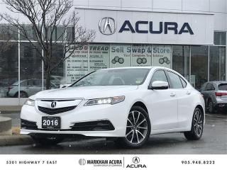 Used 2016 Acura TLX 3.5L SH-AWD w/Tech Pkg V6 290HP, Navi, Blind Spot Ind, Espresso Leather for sale in Markham, ON