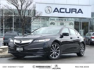 Used 2015 Acura TLX 3.5L P-AWS w/Tech Pkg Navi, Remote Start, 4-Wheel Steer for sale in Markham, ON