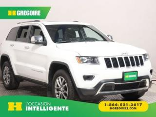 Used 2014 Jeep Grand Cherokee Ltd 4x4 Cuir Toit for sale in St-Léonard, QC