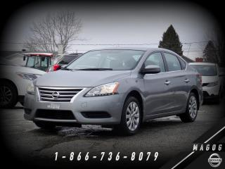 Used 2014 Nissan Sentra S + BLUETOOTH + CLIMATISEUR + DÉMARREUR for sale in Magog, QC