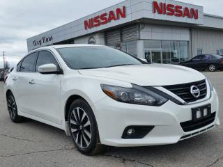Used 2017 Nissan Altima 2.5 SL w/all leather,NAV,pwr moonroof,heated seats,rear cam,climate control,remote start for sale in Cambridge, ON