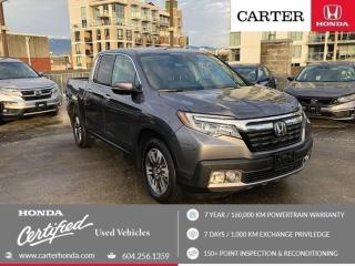 Used 2017 Honda Ridgeline TOURING for sale in Vancouver, BC
