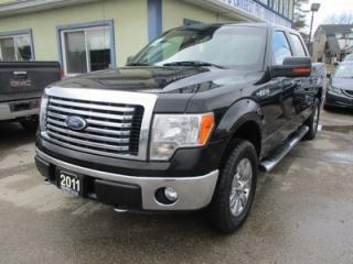 Used 2011 Ford F-150 GREAT VALUE XLT MODEL 6 PASSENGER 5.0L - V8.. 4X4.. CREW.. SHORTY.. POWER PEDALS.. SYNC TECHNOLOGY.. BLUETOOTH SYSTEM.. for sale in Bradford, ON