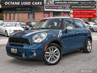 Used 2012 MINI Cooper Countryman S Accident Free! AWD! Leather! for sale in Scarborough, ON