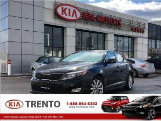 Used 2014 Kia Optima EX  | LEATHER | REAR-VIEW CAM | SMART KEY for sale in North York, ON