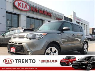 Used 2016 Kia Soul LX|KEYLESS|BLUETOOTH|A/C| for sale in North York, ON