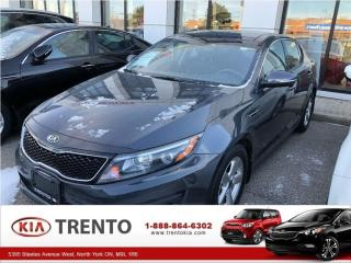 Used 2015 Kia Optima LX PLUS/PANORAMIC SUNROOF/WINTER TIRES/ALLOYS/ for sale in North York, ON