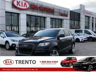 Used 2013 Audi Q7 3.0T Sport 3.0L /S LINE PACKAGE/NAVIGATION/ROOF/ for sale in North York, ON