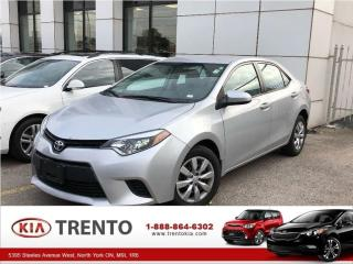 Used 2014 Toyota Corolla LE for sale in North York, ON