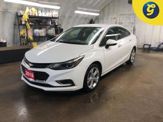 Used 2018 Chevrolet Cruze Premier * Turbo * Leather interior * Chevrolet my link touchscreen * Remote start * Reverse camera * Heated front seats/Steering wheel * 4G LTE wifi * for sale in Cambridge, ON