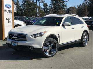 Used 2013 Infiniti EX37 Moonroof, Nav, AWD for sale in Duncan, BC