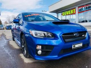 Used 2016 Subaru WRX Sport-tech Package for sale in Lévis, QC