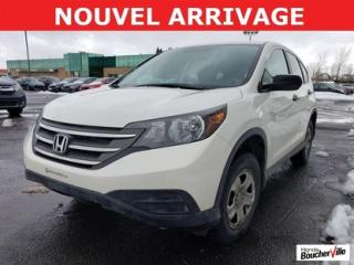 Used 2013 Honda CR-V Lx Awd Gar for sale in Boucherville, QC