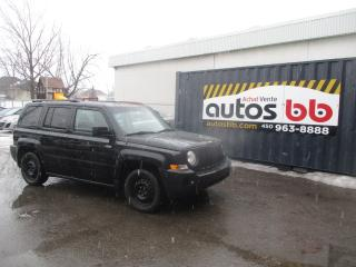 Used 2009 Jeep Patriot 4 RM, 4 portes, Sport for sale in Laval, QC