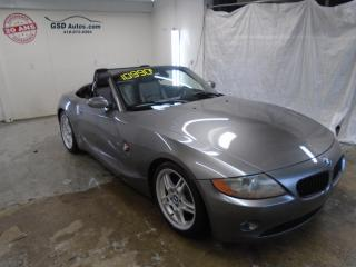 Used 2003 BMW Z4 2003 Bmw - 2dr for sale in Ancienne Lorette, QC