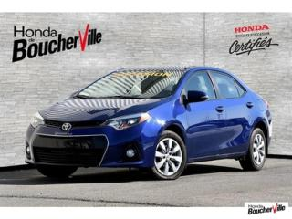 Used 2015 Toyota Corolla S for sale in Boucherville, QC