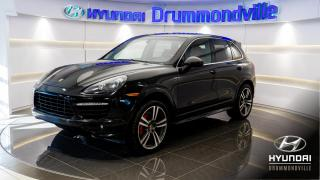 Used 2014 Porsche Cayenne TURBO + GARANTIE INCLUSE + NAVI + MAGS 2 for sale in Drummondville, QC