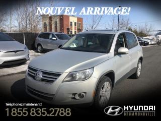 Used 2011 Volkswagen Tiguan COMFORTLINE + 4MOTION + TOIT PANO + CUIR for sale in Drummondville, QC