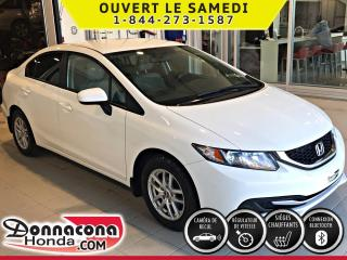 Used 2015 Honda Civic LX **GARANTIE PROLONGÉE***MAGS***CAMÉRA for sale in Donnacona, QC