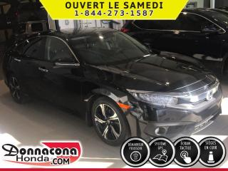 Used 2017 Honda Civic Touring ***GARANTIE PROLONGÉE***GPS***CU for sale in Donnacona, QC