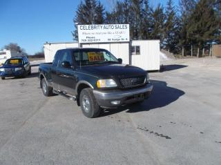 Used 2003 Ford F-150 4X4 E CAB LARIAT for sale in Elmvale, ON